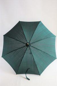 きもの日傘 縦縞着物
