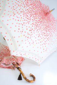 きもの日傘 紅葉柄着物 2本の日傘