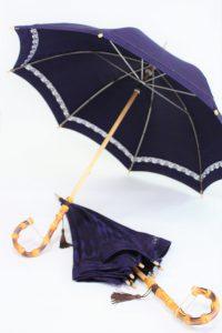 きもの日傘 雨コートから2本日傘をお作りいたしました