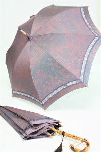 きもの日傘 梅柄の着物から2本