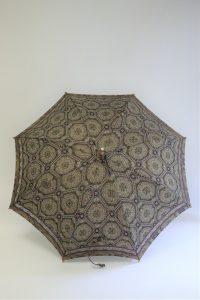きもの日傘 紬着物 お仕立てあがり