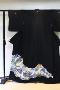 きもの日傘 黒留袖
