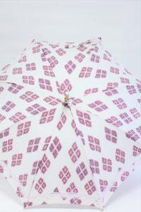 きもの日傘 羽織 正面から見た