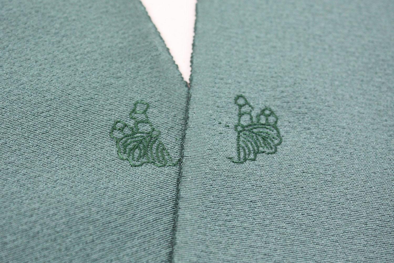 紋入れ刺繍